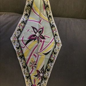 NWOT Authentic Pucci Diamond Scarf for Spring